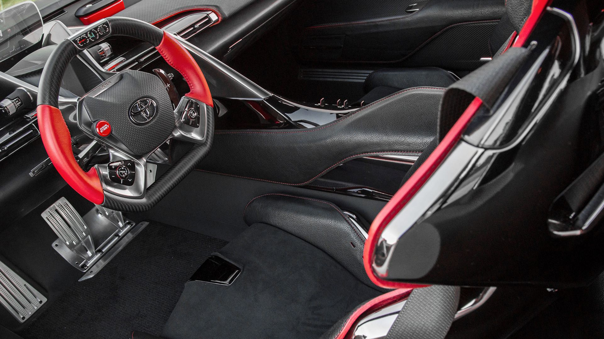 New 2019 Toyota FT 1 Interior Design