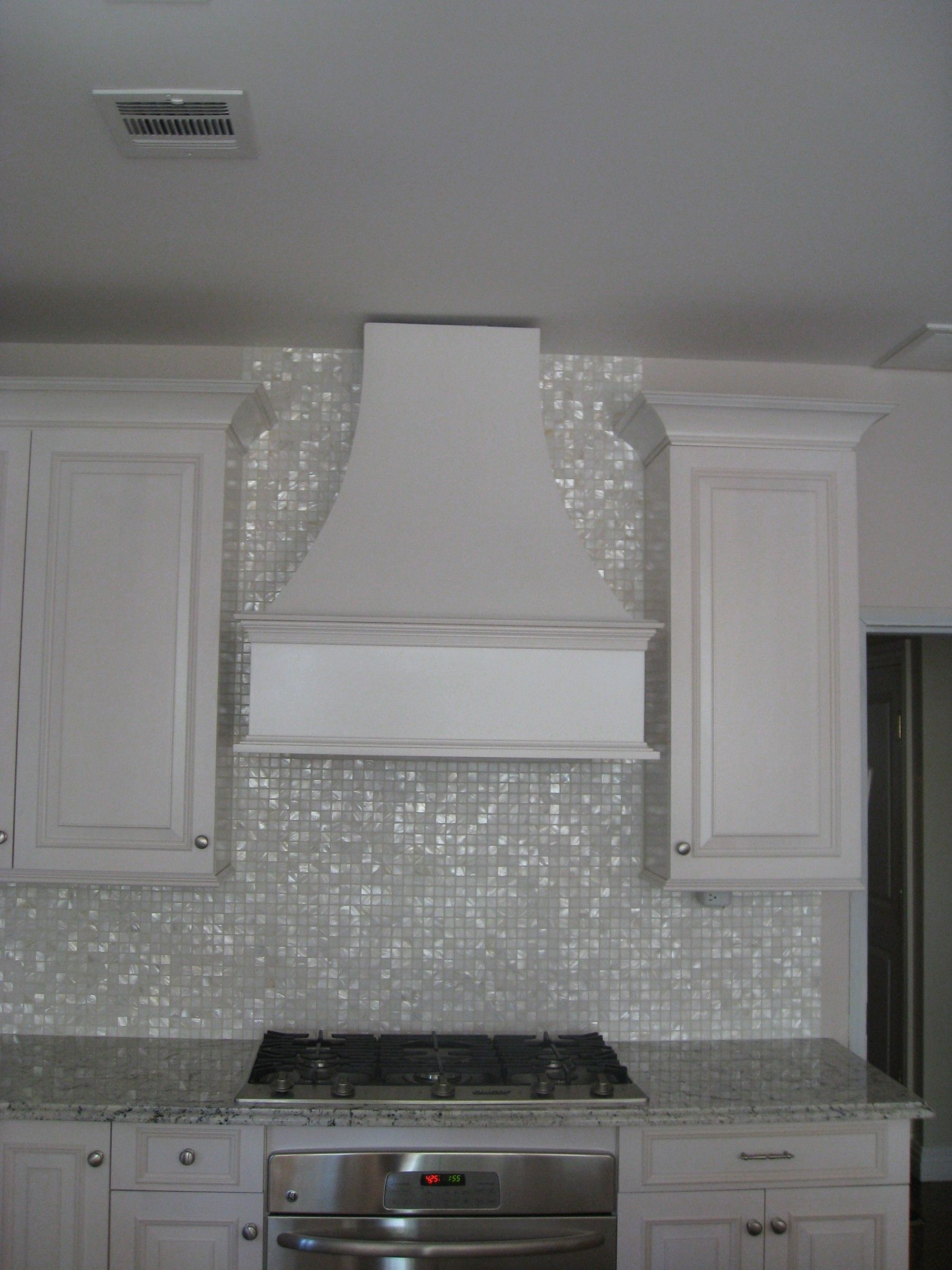 - Mother Of Pearl Oyster White Tile White Glass Tile, Home Decor