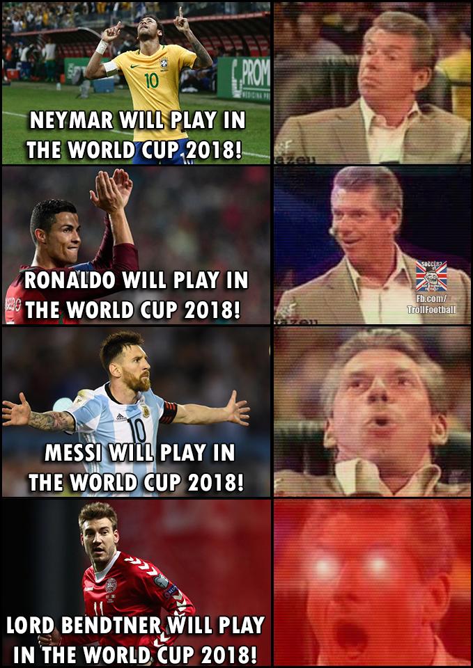 """World Cup 2018 = LORD BENDTNER 😍 "" | Football jokes ... Funny Football Trolls 2017"