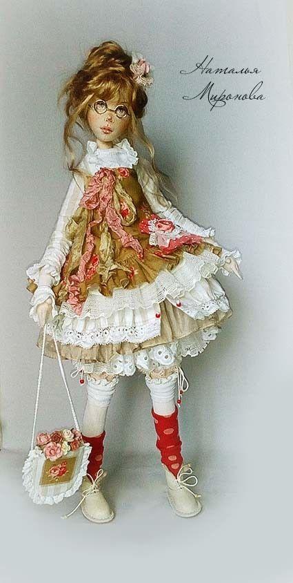 Топик любование или куклы Натальи Мироновой / Кукла тильда ...