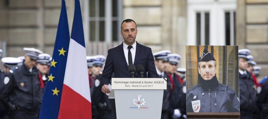 """""""Sufro sin odio"""", dice El marido del policía asesinado en París"""