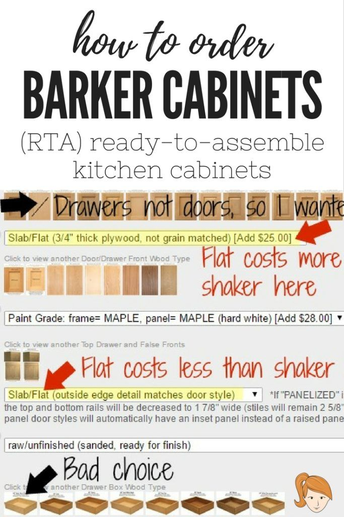 How To Ordering Barker Cabinets U2013 A Review Of Ready To Assemble (RTA
