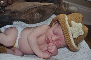 Sleeping cowboy!