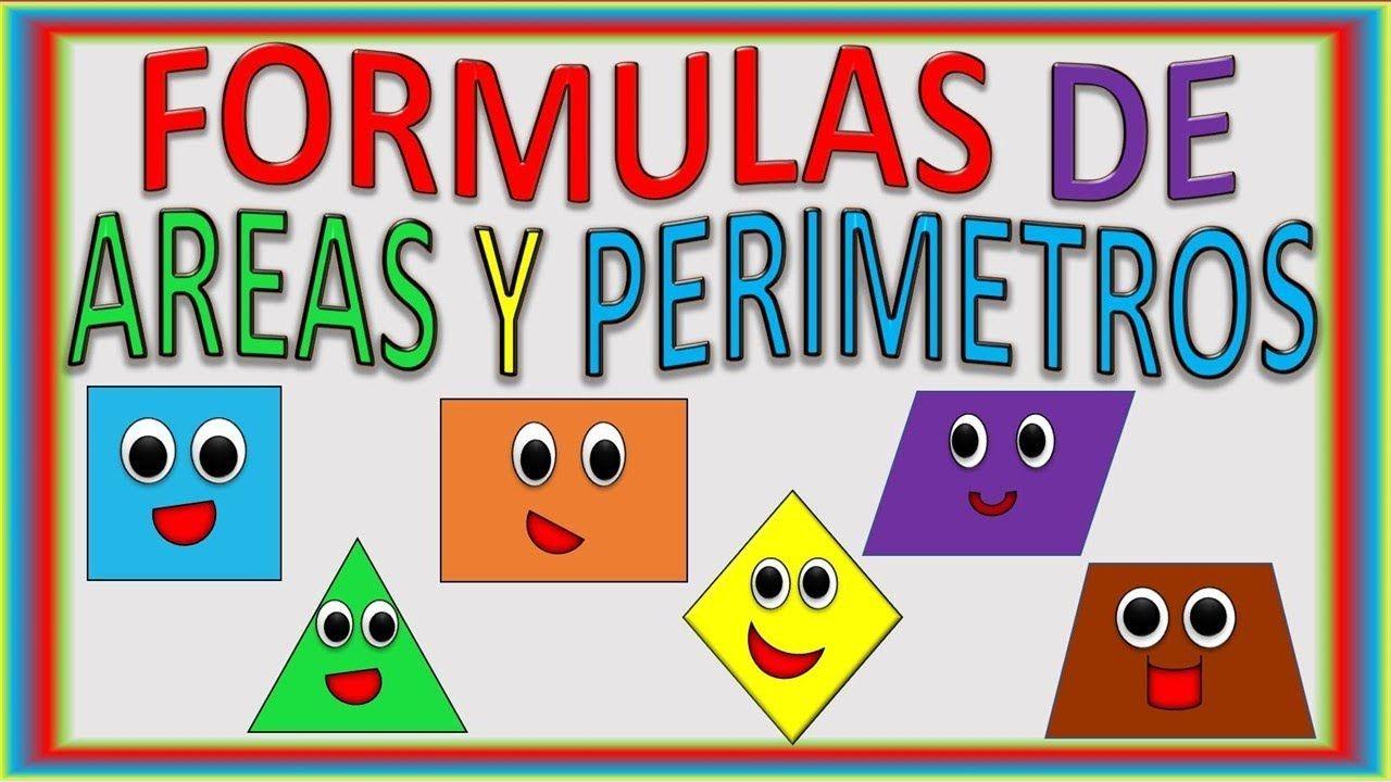 Areas Y Perimetros De Figuras Para Ninos Area Y Perimetro
