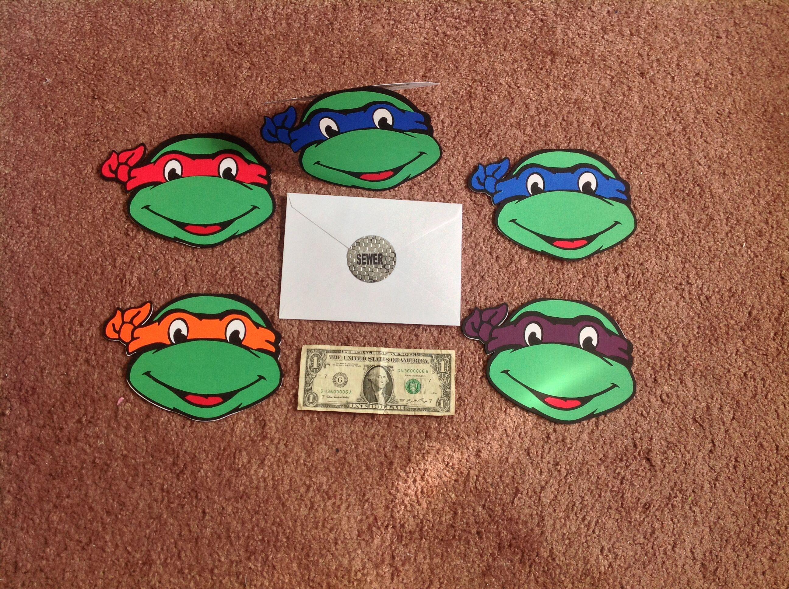 Teenage mutant ninja turtles invitations – Teenage Mutant Ninja Turtle Party Invitations