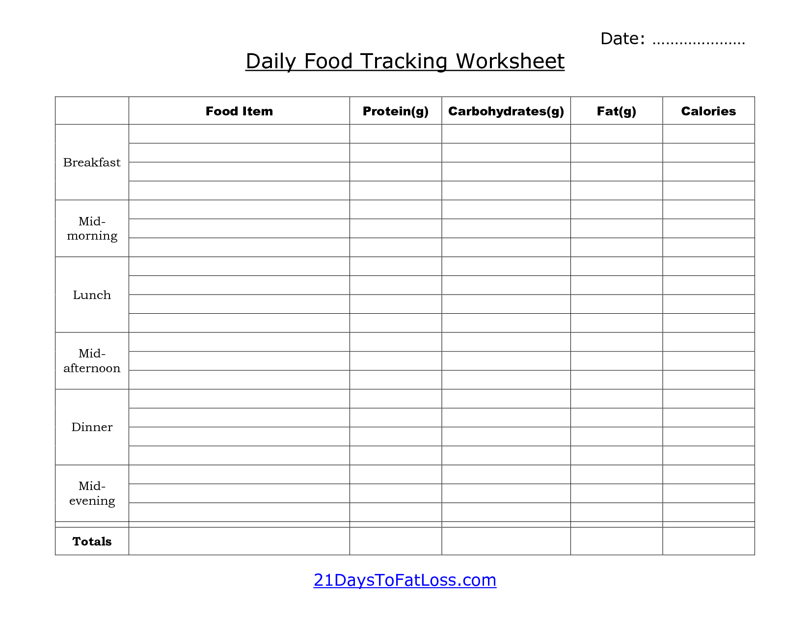 Worksheets Meal Tracking Worksheet free printable blank income statement was designed as an excel spreadsheet that performs auto totaling calculations