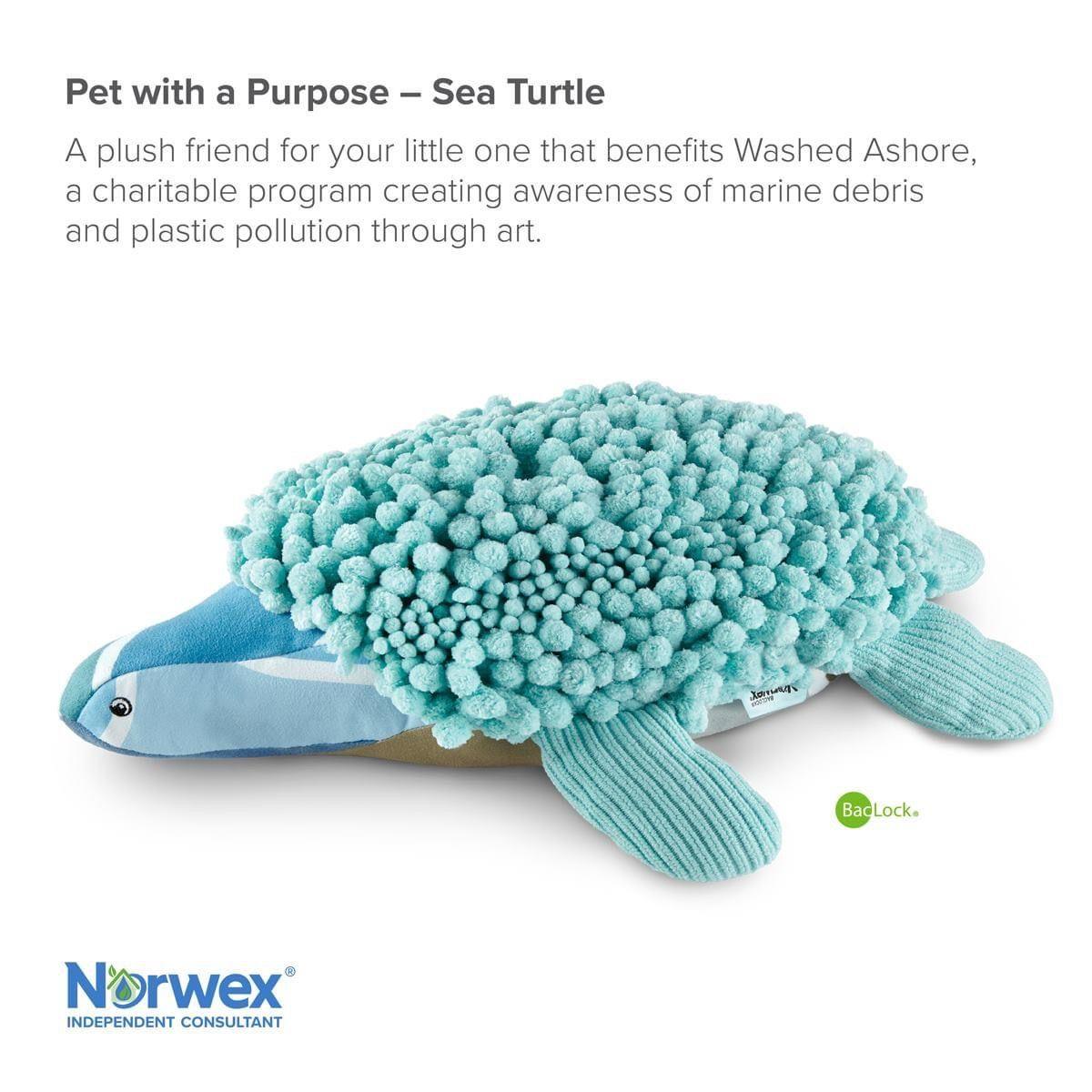 Adorable sea turtle sea turtle norwex fluffy stuffed