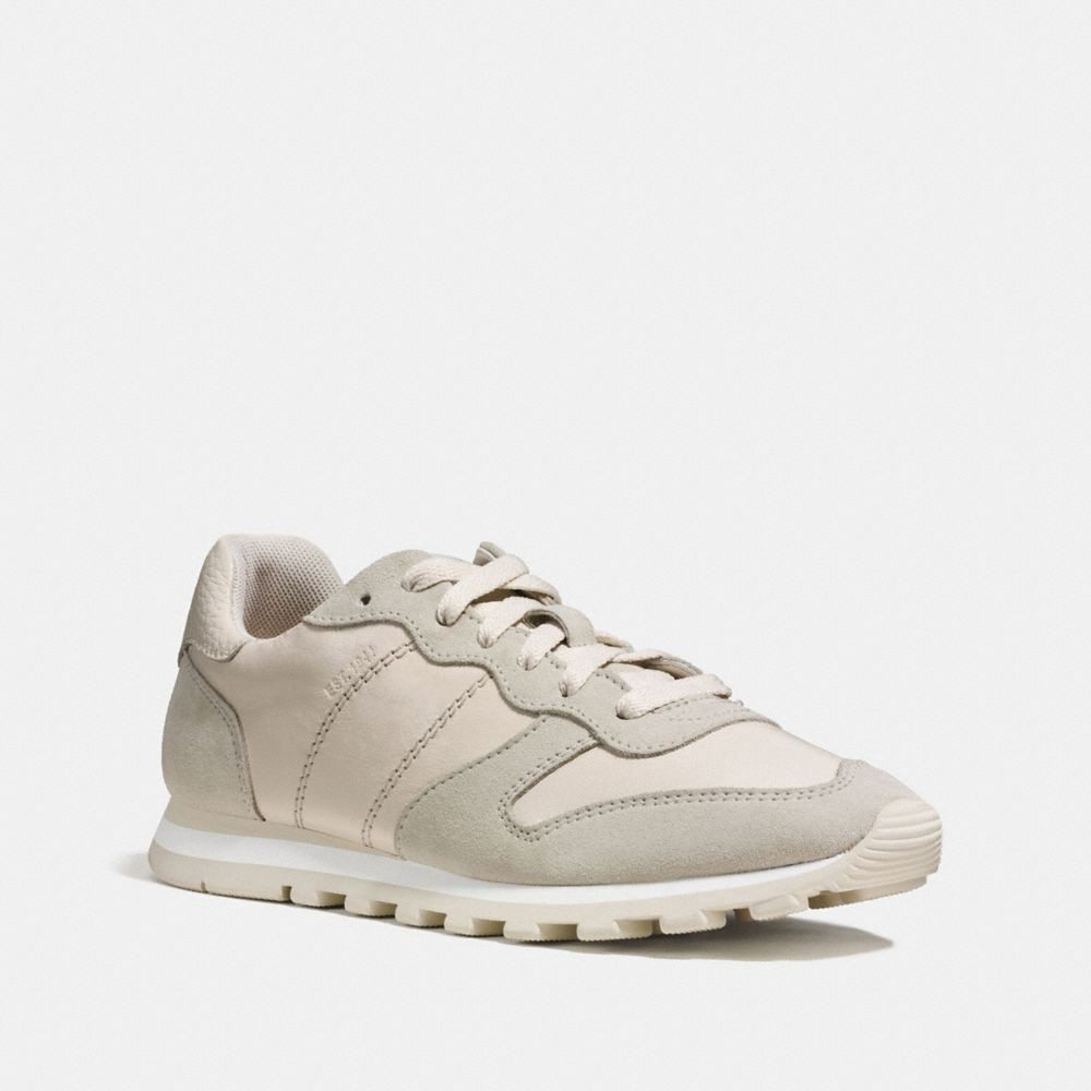 Coach sneakers, Leather sneakers