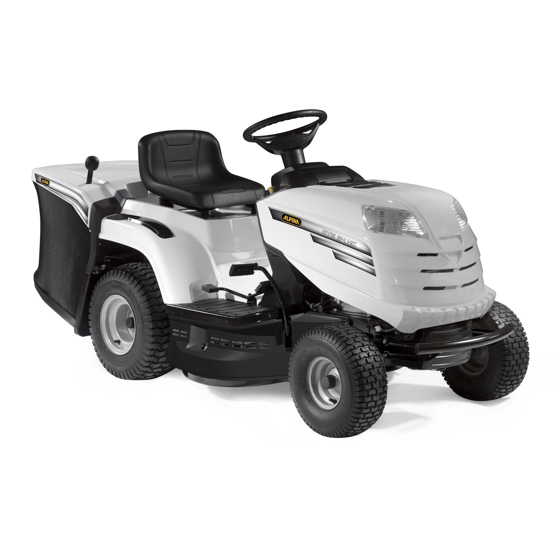 Tondeuse Autoportee Ejection Arriere Alpina At5 84hcb 344 Cm L 84 Cm En 2021 Tondeuse Autoportee Autoportee Tracteur Tondeuse