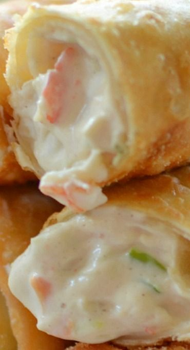 Crab rangoon egg rolls appetizer egg rollsspring rolls crab rangoon egg rolls egg roll recipesparty food recipeschinese forumfinder Image collections