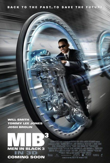 Men in Black III International Poster - Will Smith takes a wild ride in this time-tripping sequel, which finds Agent J tying to save the future.