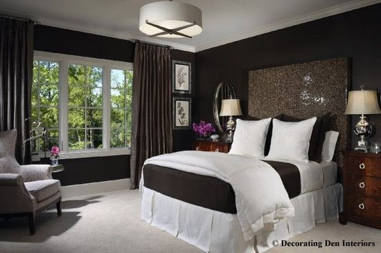 Dark Colored Walls Bedroom Master Bedroom Design Pictures Remodel Decor And Ideas