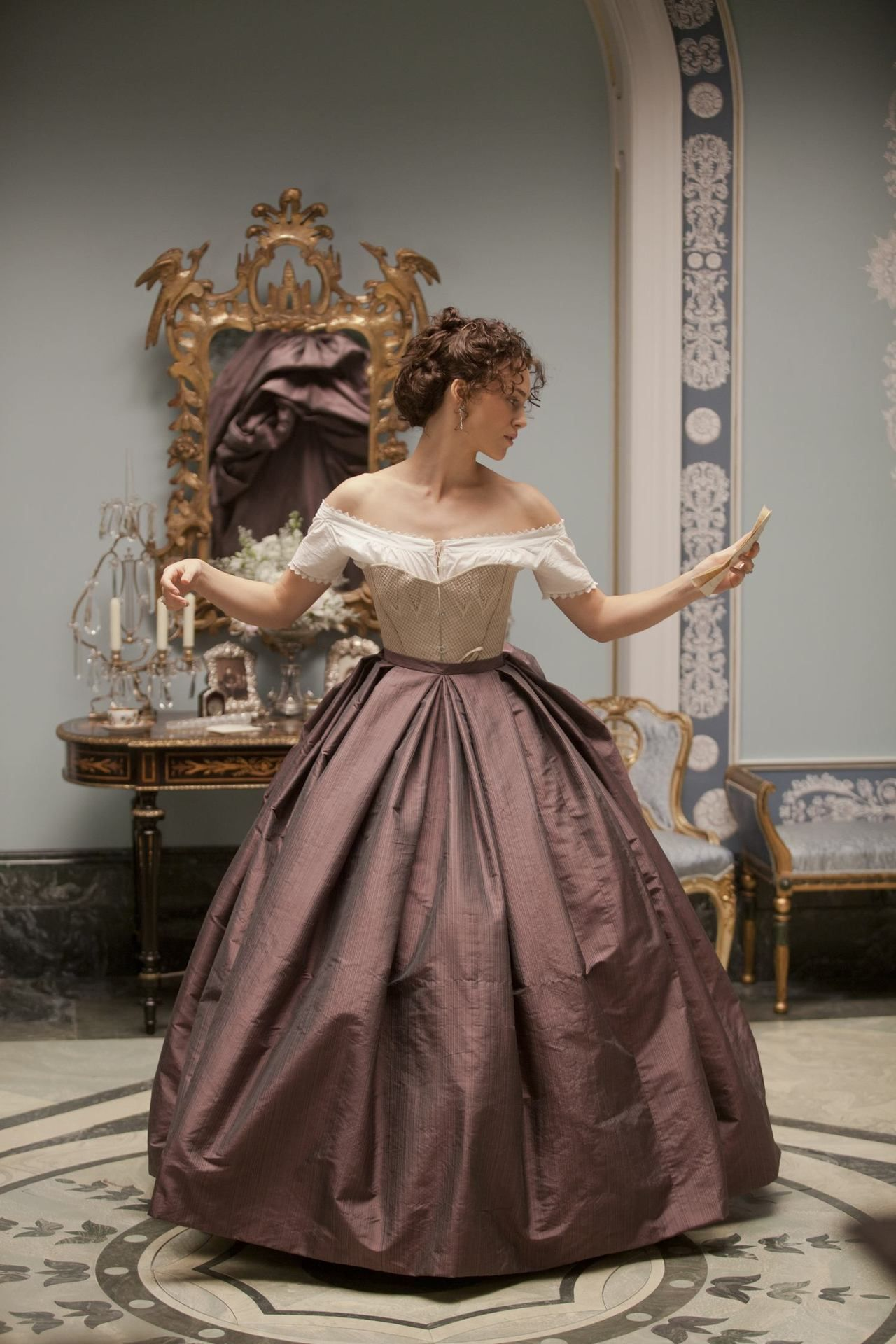 Keira Knightley costume in 'Anna Karenina', 2012. Late ...
