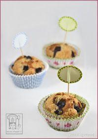 Dolcizie... le mie dolci delizie !: Muffin ai mirtilli con streusel