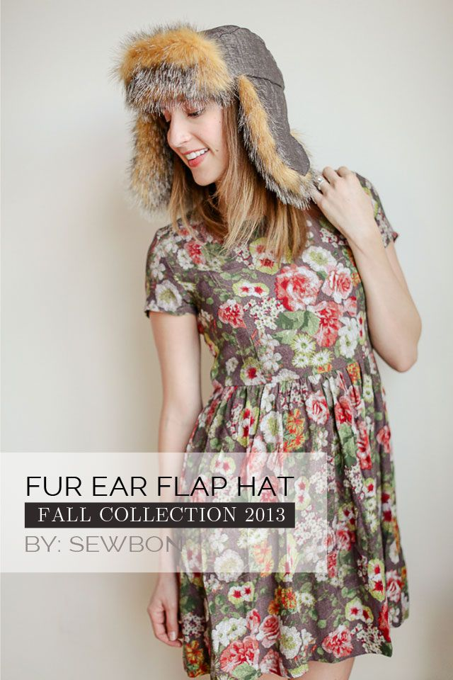 Ear Flap Hat DIY - with free Sewing Pattern | Kleidung nähen ...
