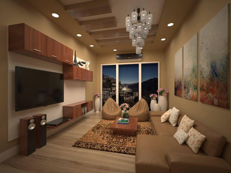Modern Living Room Interior Design Look At Night Mode Very Elegant Colors Which Perfectl Bedroom Door Design Living Room Design Modern Best Living Room Design