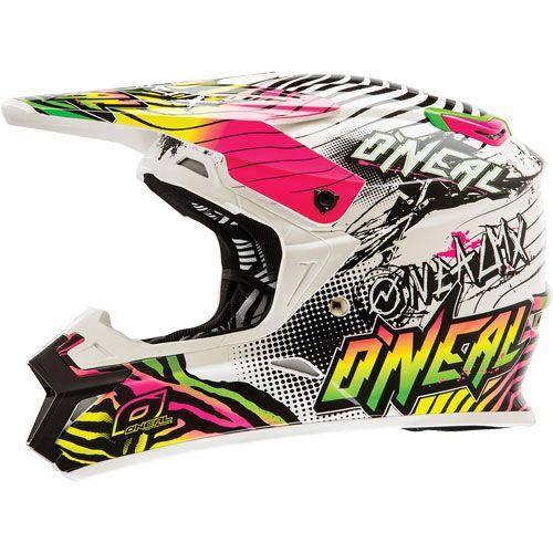 MX Motocross Off-Road Dirt Bike ATV Mens Adult O/'Neal 3 Series Attack Helmet