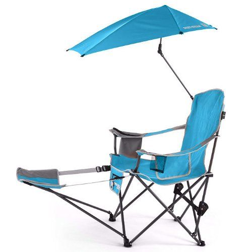 Fine Sport Brella Chair With Umbrella And Ottoman Camping Gmtry Best Dining Table And Chair Ideas Images Gmtryco