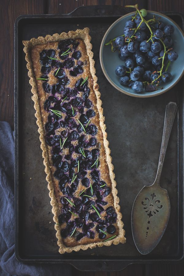 The Bojon Gourmet: Concord Grape + Walnut Frangipane Tart with a ...