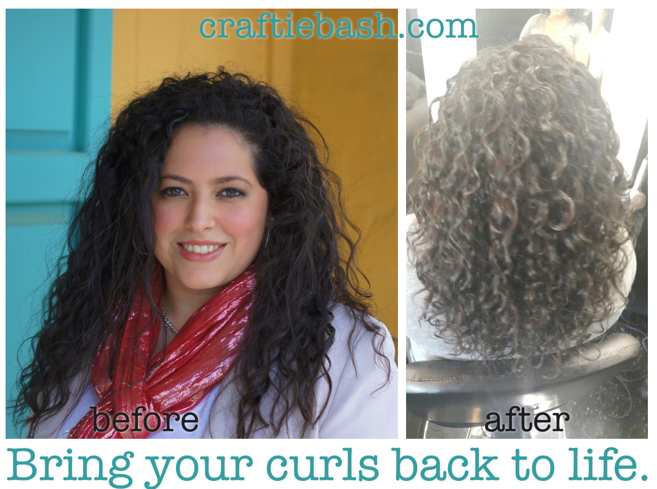 Craftie Bash Curly Hair Styles Hair Hair Routines