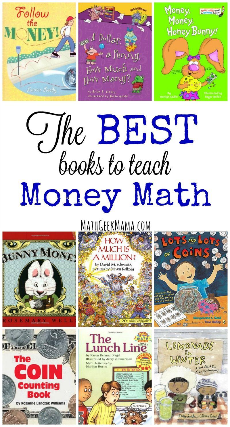 The Best Books to Teach Money Math Concepts Math