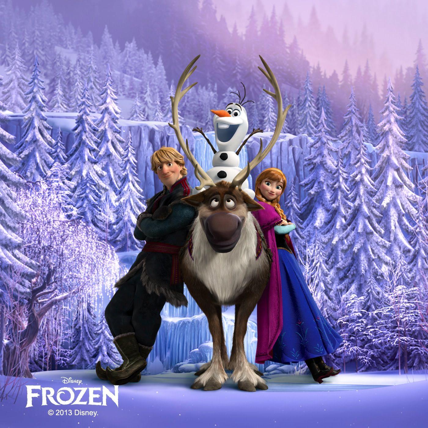 Anna kristoff sven olaf frozen isney ixar - Frozen anna and olaf ...