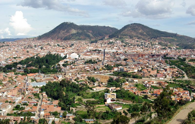 View Of Sucre Bolivia View Of Sucre The Constitutional Capital Of Bolivia Aff Sucre View Bolivi Photo Photography Tutorials Photoshop Stock Photos