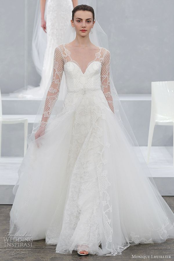 Monique Lhuillier Spring 2015 Wedding Dresses   2015 wedding dresses ...
