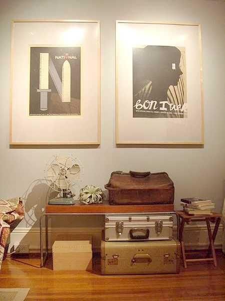 20 Design Ideas To Upcycle Old Suitcases Modern Furniture And Artworks In Vintage Style