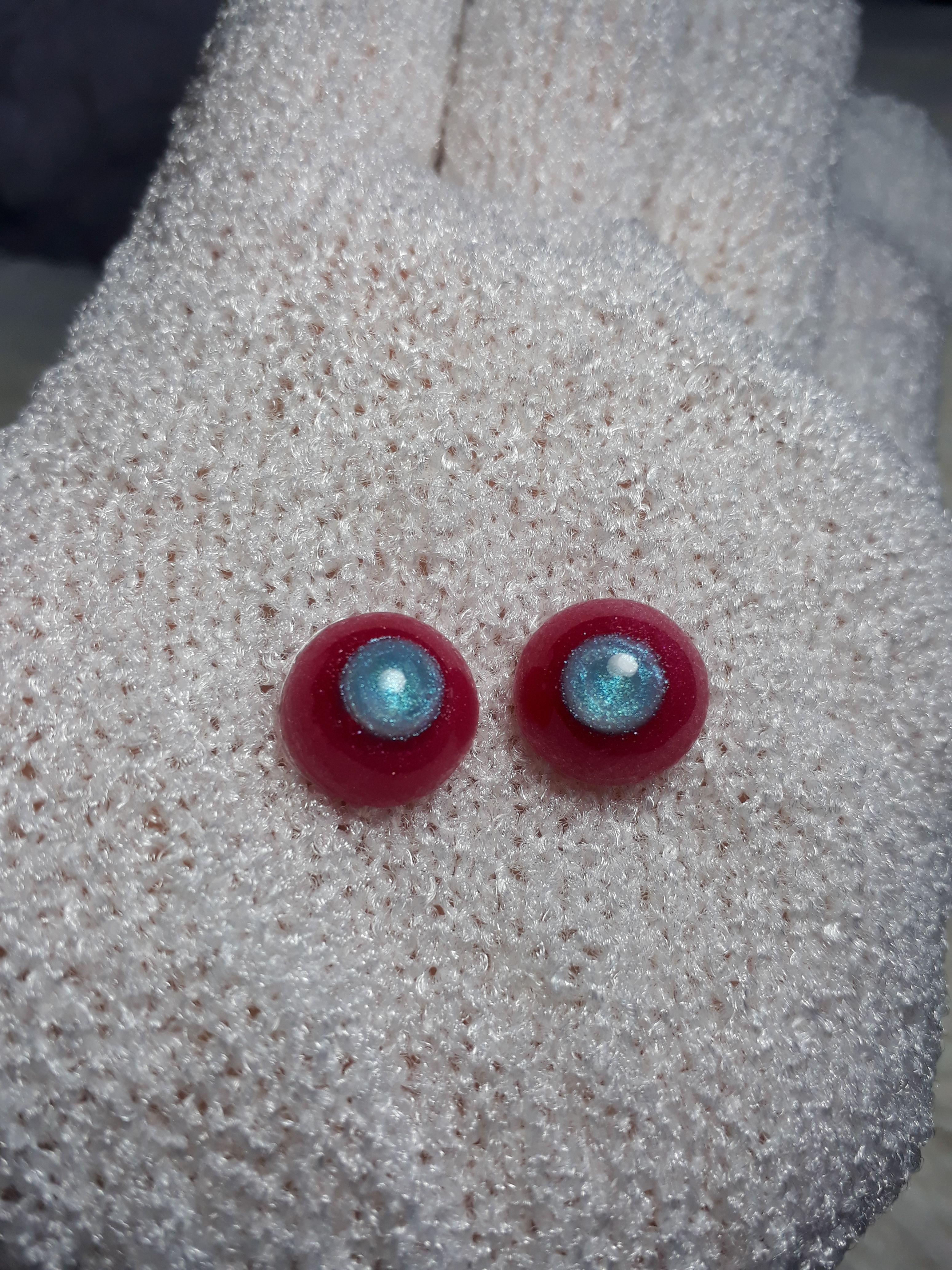 16mm  For BJD DOD AOD MK OK RD Doll Dollfie Glass Eyes Outfit yellow Y01