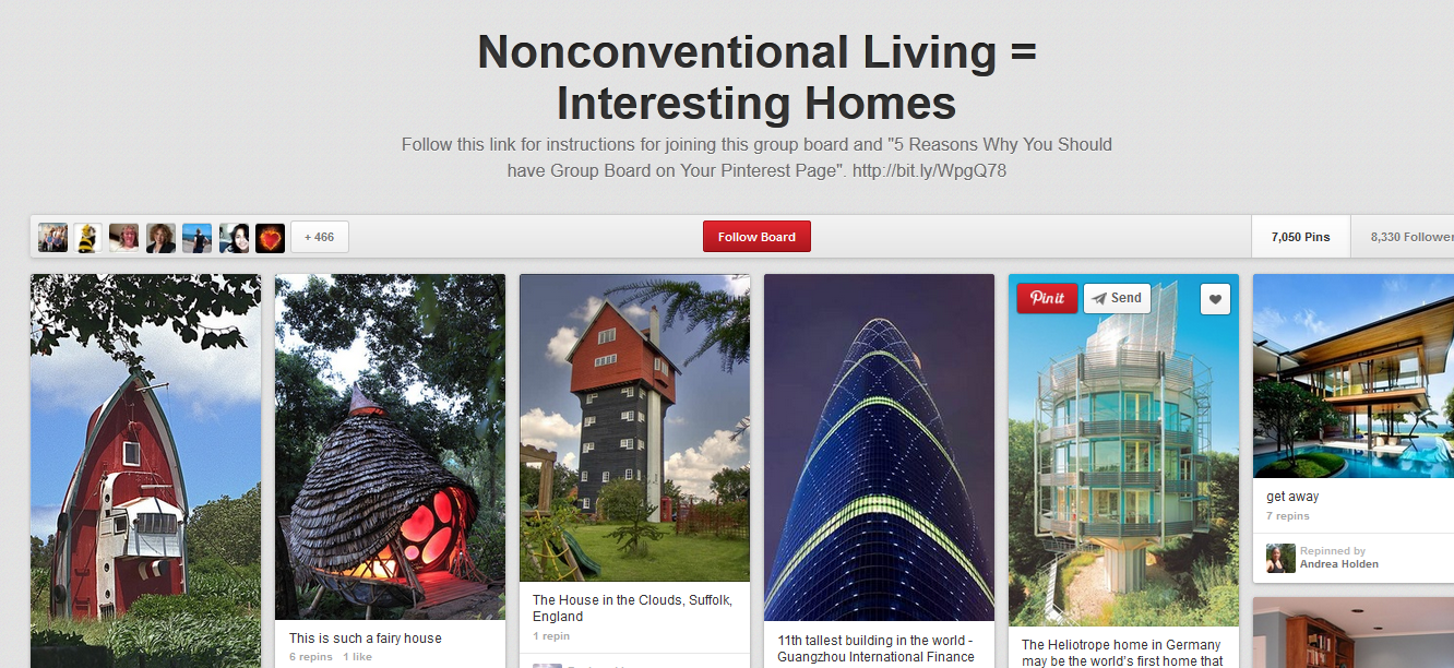 Beautiful collection of unconventional and interesting homes