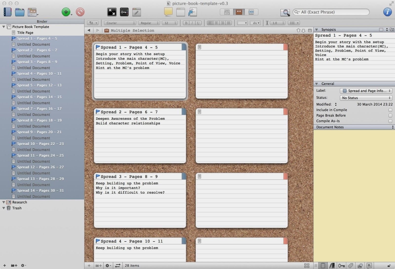 Claire obrien art writing a picture book in scrivener free claire obrien art writing a picture book in scrivener free scrivener template maxwellsz