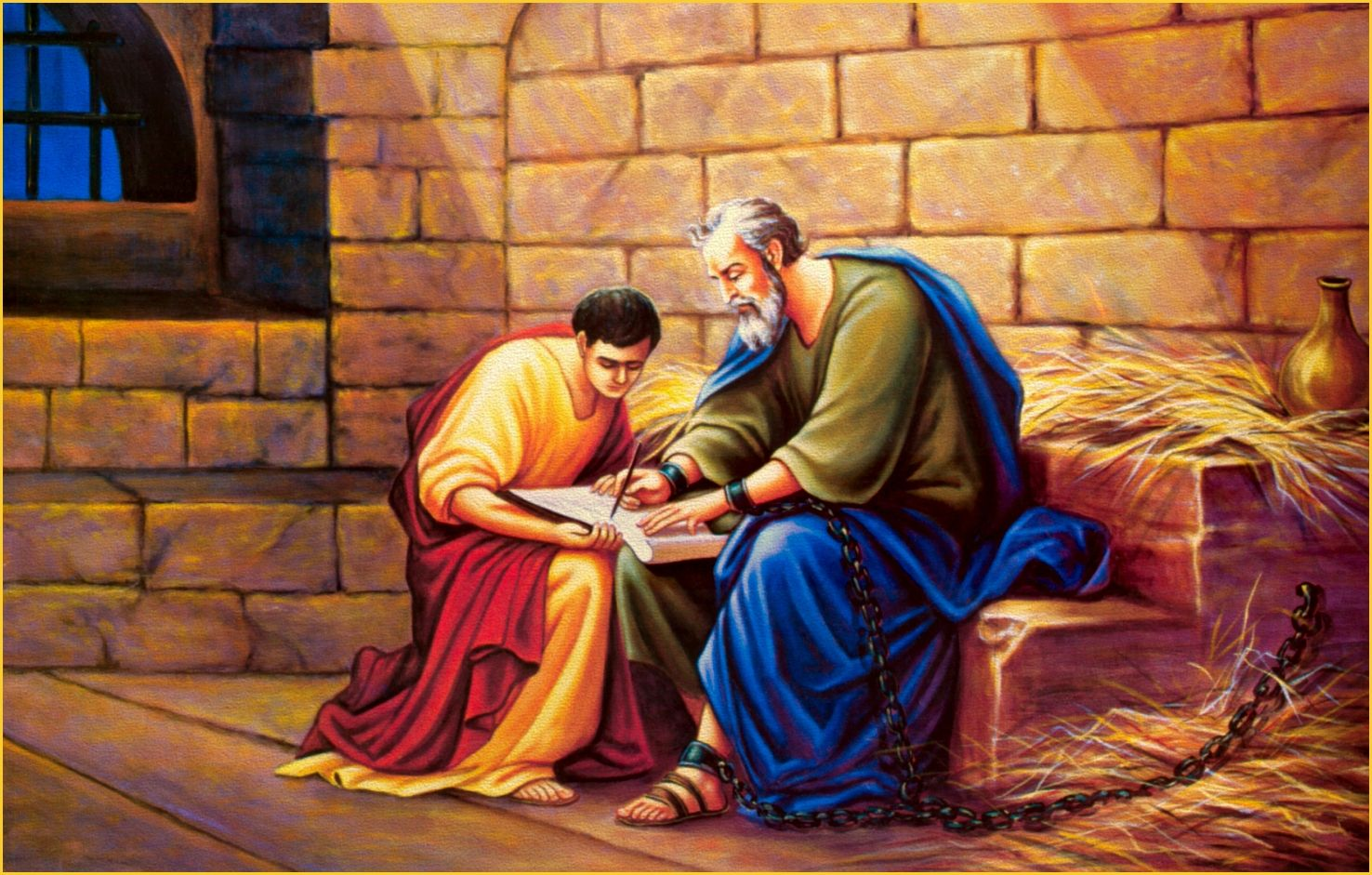 Image result for the apostle paul in chains