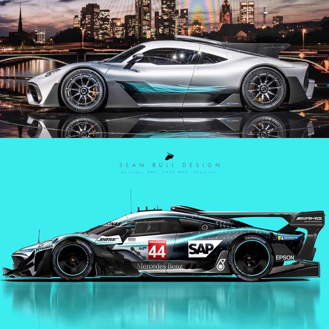 Mercedes Amg One Gtr 2020 Le Mans Concept And Livery Long