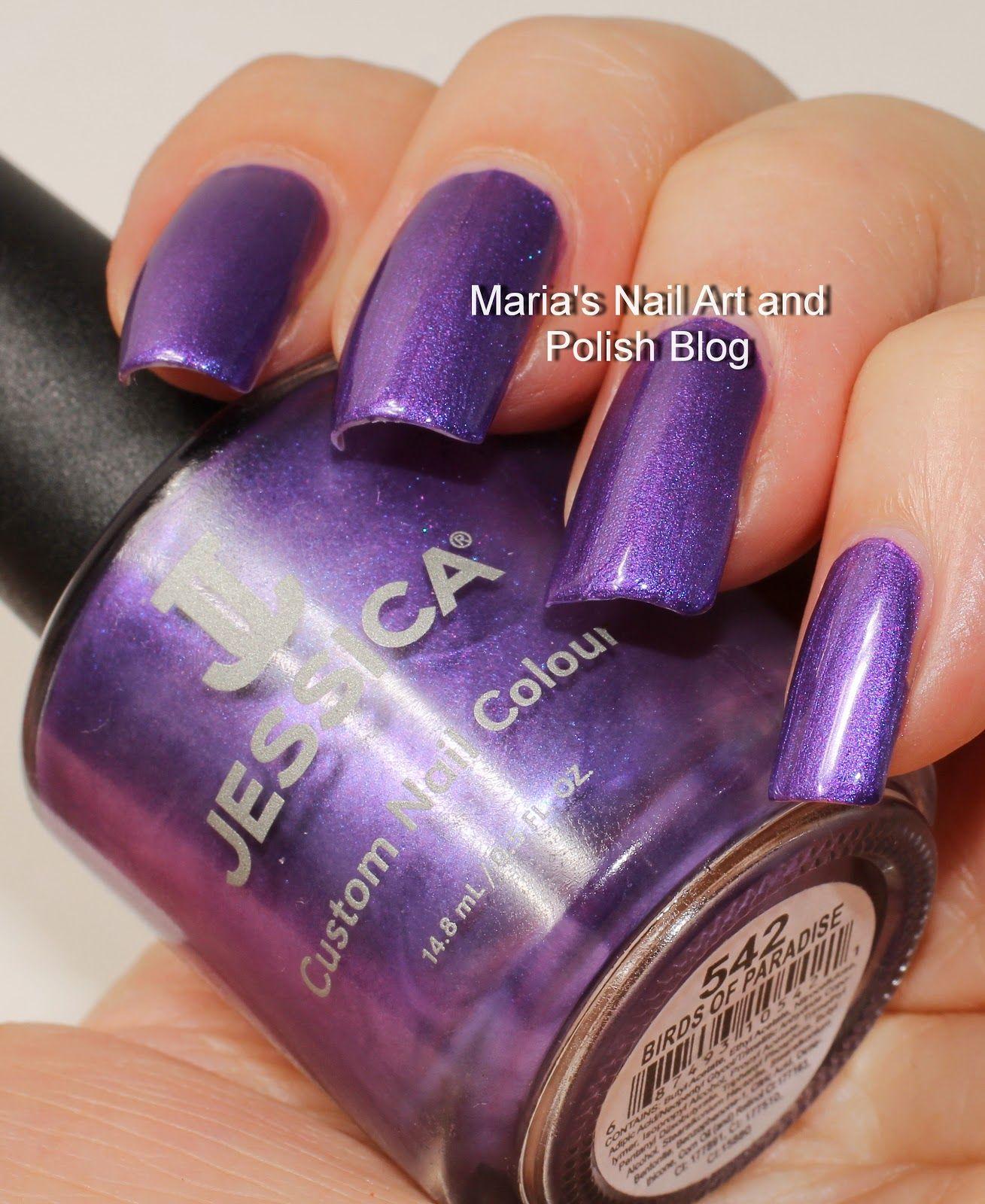 Famous Jessica Metallic Nail Polish Ensign - Nail Art Ideas ...