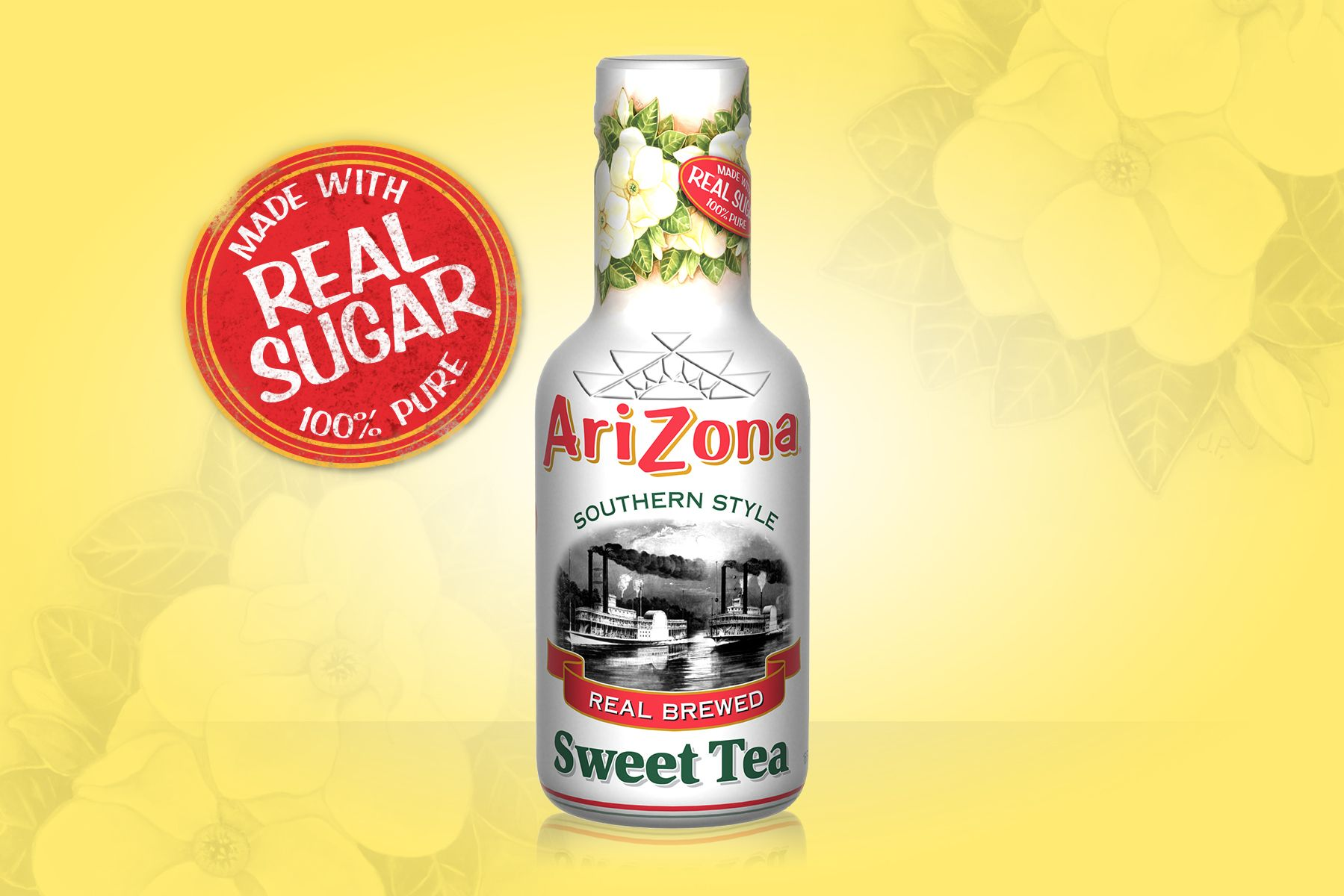 The Original Brand Sun Brewed Style Lemon Flavor Iced Tea That Put Arizona On Map Our First And Most Por Has A Taste Enough To