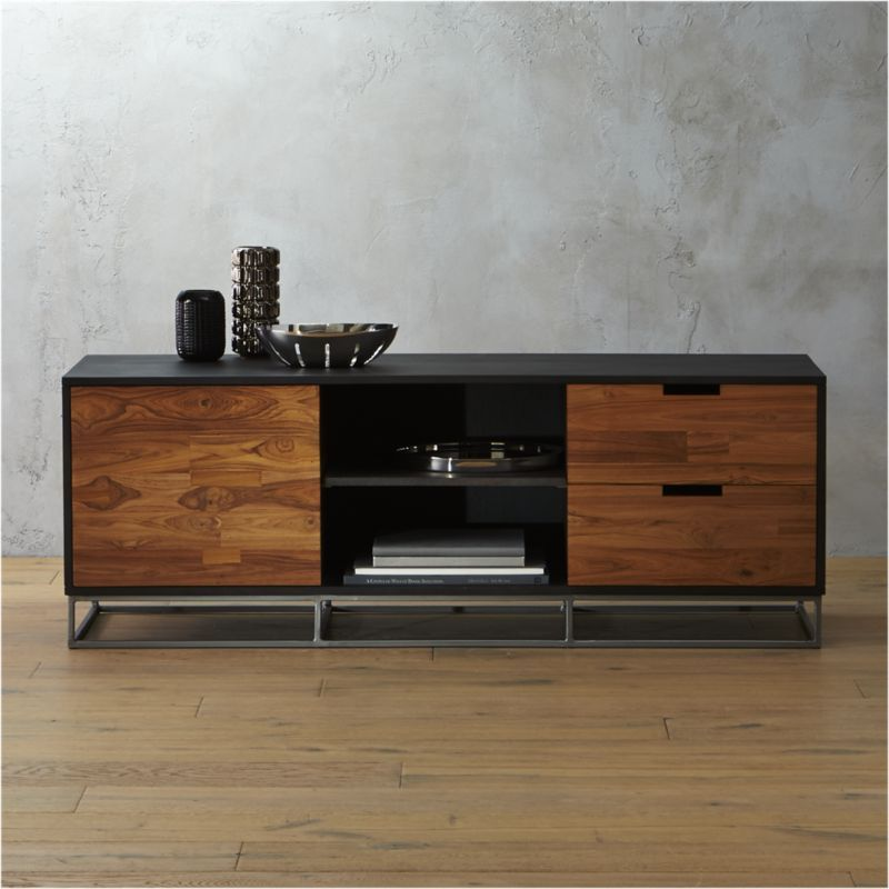 congo media credenza | Wood structure, Credenza and Modern cabinets
