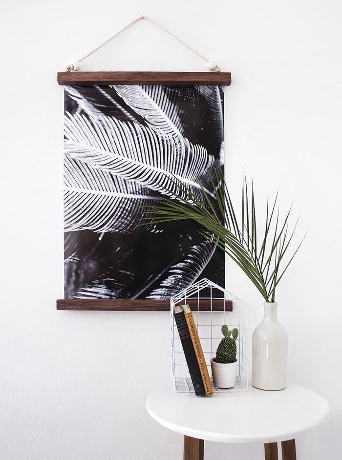 18 Modern + Minimalist DIY Decor Ideas for Aquarius | Hanging frames ...