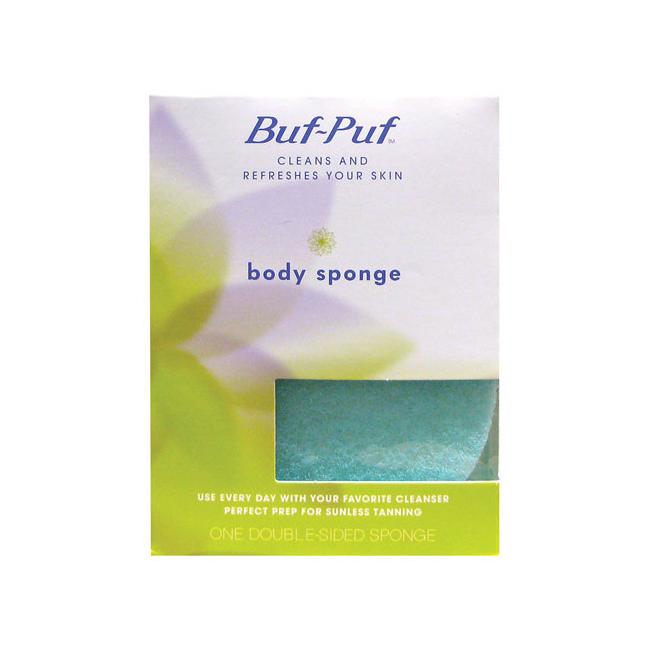 Nexcare Buf Puf Body Sponge 1 Unit Body Sponge Exfoliating Sponge Bath Body