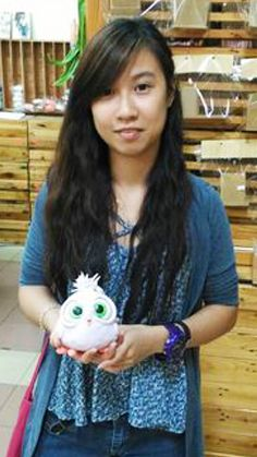 Yenji's Feathered Friends student project.