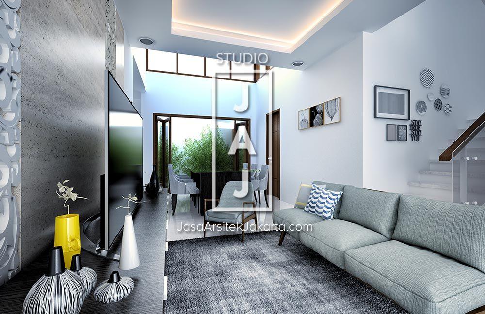Desain Rumah 2 Lantai Luas Bangunan 200m2 style Bali