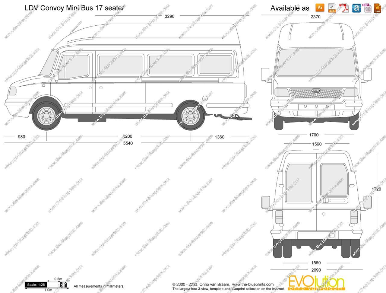 """ldv convoy"" internal dimensions - Google Search Camper Van, Knight, Truck  Camper"