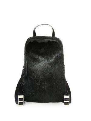 466d41625b35 PRADA Fur   Nylon Backpack.  prada  bags  fur  nylon  backpacks ...
