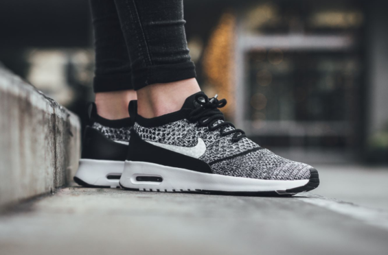 68126a9aa6 A Flyknit Makeover On The Nike Air Max Thea | Discount Nikes | Nike ...