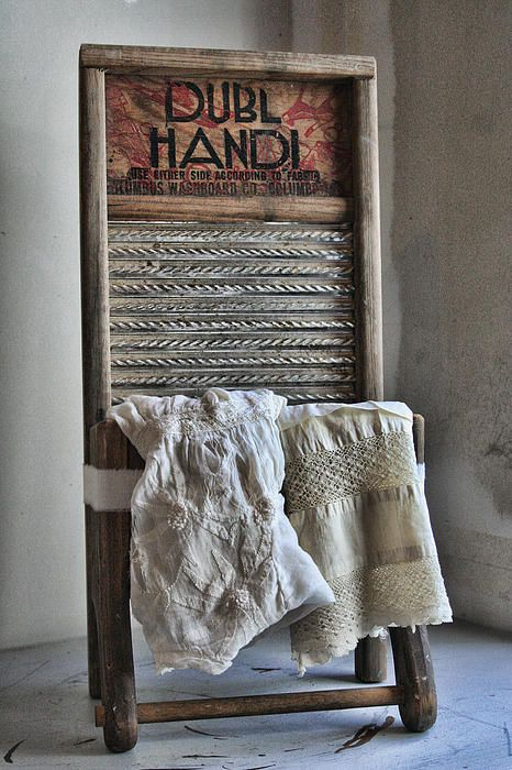 Linen and Lace Vintage Laundry Print