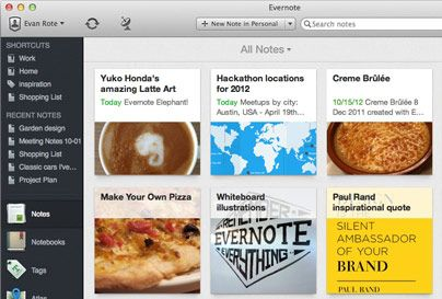 What's new in Evernote 5 for Mac - redesigned with over 100 new features
