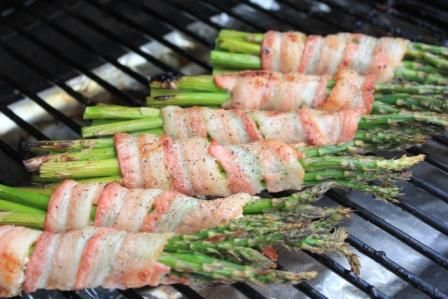 Bacon Wrapped Asparagus Recipe Food And Drinks