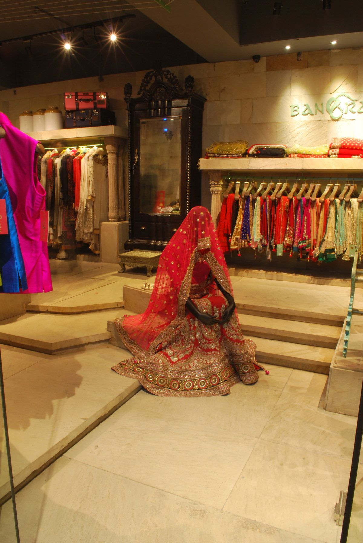 Lehanga Store Design Interior Clothing Store Interior Clothing