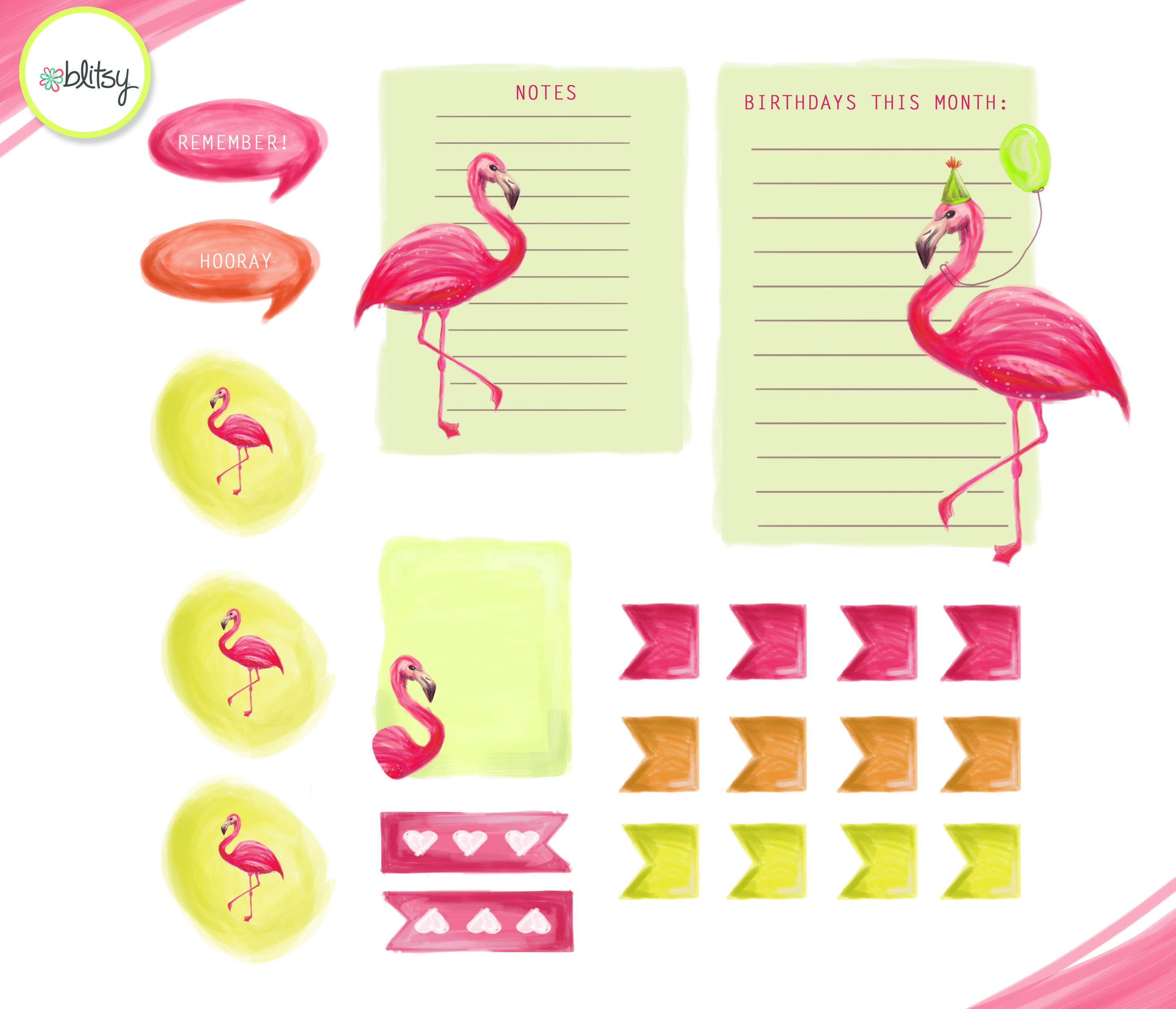 How to make your own planner stickers plus a free for Create your own planner free