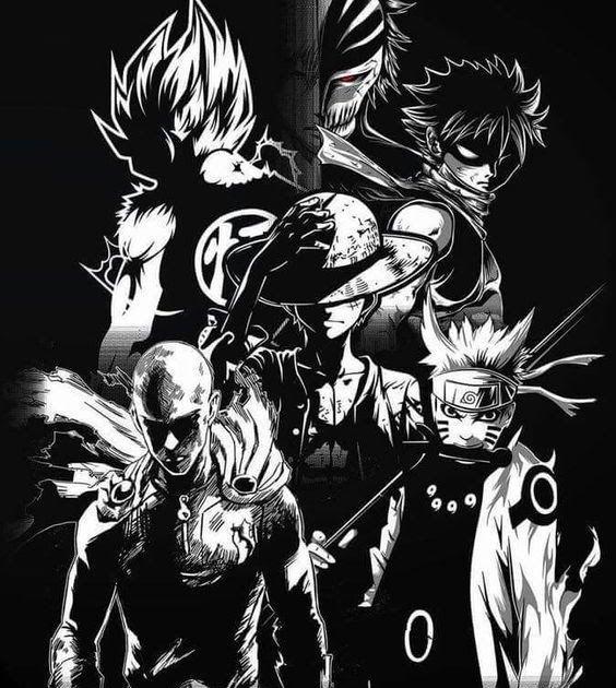 Boruto Gambar Naruto Keren Hitam Putih Anime Wallpaper Anime Hero Wallpaper